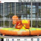 Best popular inflatable rodeo bull exciting game for china sale
