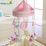 Alibaba Children Soft Toy Factory baby musical cot mobile hanging toy plush soft toy