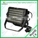 Lowest price and High Power IP65 Waterproof Fresnel Iyre concert Flood light 60PCS 3W pure white stage LED Wall Washer Light