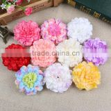 Artificial fabric flowers for wedding decoration, chrysanthemum flower for clothes making                                                                         Quality Choice
