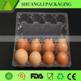 Disposable PVC bulk egg cartons for sale/plastic packaging for eggs