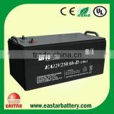 Top performance battery manufactory hot sale gel battery 12v 250ah for solar power