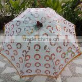 Indian Folding Summer Umbrella / Modeling Umbrella / Designer Parasol / Unisex Sun Umbrella
