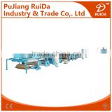 [RD-7-220-1600]China automatic high speed 7 layer corrugated paperboard production line