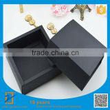 25pcs 15*15*5cm DIY Blank Black Cardboard Paper Packing Box Small Storage / Jewelry / Candy / Watch Box, Free Shipping