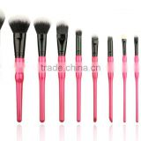 custom private label 9pcs 10pcs 12pcs special handle cosmetic makeup brush set                                                                         Quality Choice