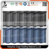 COC/Soncap/CE/BV/SGS Corrugated steel material Stone coated metal galvanized steel roof tile/sheet/shingle prices