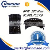 OEM No. 0509146170 Heavy Truck BPW 180 Brake Shoe