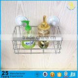 Trade assurance hanging Metal Chrome Bathroom Rack Shower Caddy, metal storage rack(China)