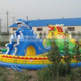 2015 New Atrraction Amusement Park Inflatable Rides Water Park, Waterproof Play Equipment