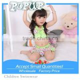 2012 kids swimwear models cute kid's swimwear kids bikini Fashion small punctuate design your own swimwear