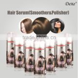 hair serum with keratin and argan oil with high profit margin hot sale product of Dexe hot sale hair serum