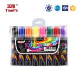 Factory direct sale multi-color ink waterproof easy erase permanent marker