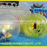 Special design 1.0mm PVC/TPU water rolling ball ,inflatable water roller ball, inflatable human hamster ball