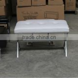 Comfortable waiting stool with PU seat