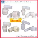 Factory manufacture flanged plastic bushing square