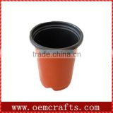 cheap small terracotta wholesale ceramic flower plant pot