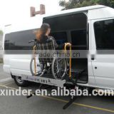 WL-UVL Series Hydraulic Platform Wheelchair Van Lift for Electric scooter and manual wheelchair disabled install On MercedeBens