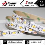 High brightness plastic cover for led strip with 60leds/m led strip light white cri 80 5630