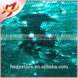 High quality shinny colorful Sequin fabric for shoes or bag