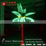Decorative Fake Palm/coconut Trunk Led Tree Lighting 3m 2015 New Product Artificial Plant