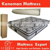 China wholesale King size sleep well diamond level euro top pocket spring mattress rolled in box