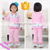 wholesale Bella Fairy new baby outfit with ruffle, clothing for baby girl