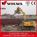 hydraulic excavator rotating grapple,wheeled excavator for sale,excavator log grapple