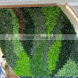 factory price high quality fake green walls/artificial indoor gardens for decoration