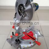 "12"" Low Noise Long Life Electric Power Wood Aluminum Cutting Machine 305mm Induction Motor Compound Miter Saw"