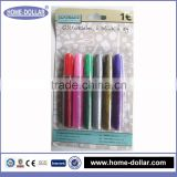 high quality multi-color eco-friendly waterproof kid use all size stationery glitter glue manufacturer for deocoration