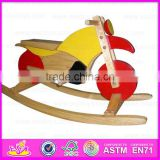 2015 High quality kids rocking horse toy,Best sale children wooden rocking horse toy,Baby product wooden rocking horse WJ276724