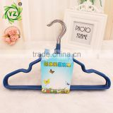 A358 laundry product anti slip metal pvc coated clothes hanger