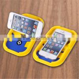 Silicone GPS Business Card Container Car Cell Phone Holder for Phone 6