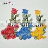 Factory Wholesale Fashion Flower Clothing Embroidery Patch Fabric Accessories Craft WEF-758