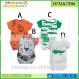 cotton short sleeve baby romper New Born Clothing Summer Baby Gift baby jumpsuits cute animal