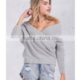 V neck sweater women spring Autumn loose long batwing sleeve sweater tops Fashion pullovers thin sweaters jumper 2017