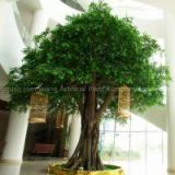 indoor&outdoor cheap artificial ficus tree,fake banyan tree making