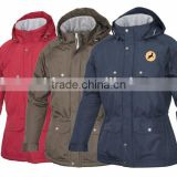 Waterproof Winter Quilted Riding Jacket with multi pocket