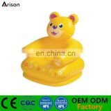 PVC inflatable bear shaped chair inflatable cartoon animal sofa inflatable seat for kids