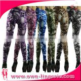 OEM wholesale sexy seamless printed leggings fashion slim leggings for women factory