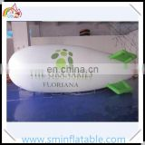 Promotion inflatable helium blimp, pvc inflatable flying blimps, advertising floating air plane for sale