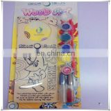 wooden 6 color cute suncatcher