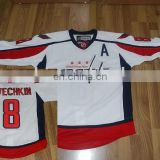 8# Alex Ovechkin/ Washington Capitals /white/top quality /new style jersey