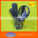 Plastic hair brush mirror set Ningbo Wondew