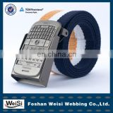 manufacturer hot selling fashion men elastic belt material