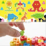 3D Building block erasers DIY Assembled erasers For Kids