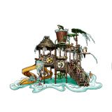 Forest Theme Water Playground Big Water House for Sale