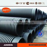 800mm sn8 hdpe culvert pipe for sewer and drainage with flexible sealing ring connection and no leakage