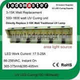 LED UV curing / drying system